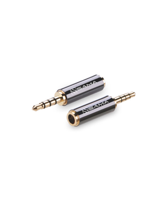 2.5mm Male to 3.5mm Female Adapter – SamaTech
